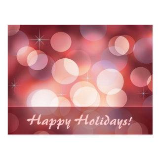 Happy Holidays! Card Postcard