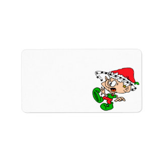Happy Holidays Cards Self Adhesive Labels