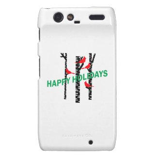 Happy Holidays Motorola Droid RAZR Case