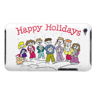 Happy Holidays iPod Case-Mate Cases