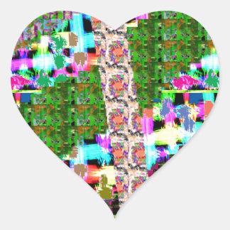 HAPPY Holidays Celebrations Art Xmas NewYear gifts Heart Sticker