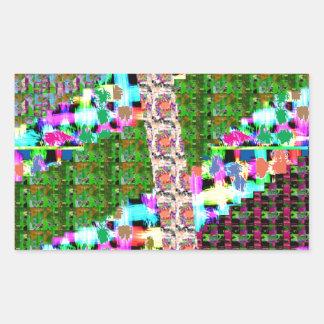 HAPPY Holidays Celebrations Art Xmas NewYear gifts Rectangular Sticker