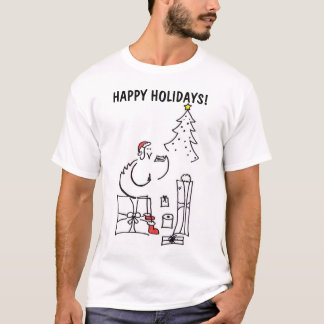 Happy Holidays Chick T-Shirt