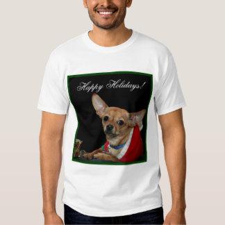Happy Holidays Chihuahua T-Shirt
