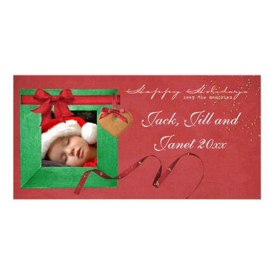 Happy Holidays Christams Photo Cards
