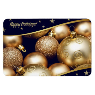 Happy Holidays. Christmas Gift Magnet