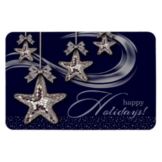 Happy Holidays. Christmas Gift Magnet Magnets