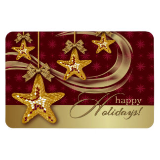 Happy Holidays. Christmas Gift Magnet Vinyl Magnets