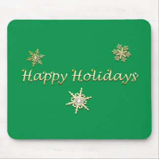 Happy Holidays Christmas Mousepads