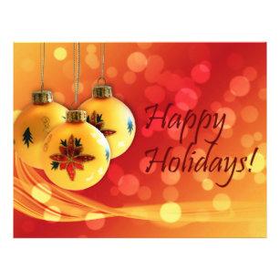 christmas ornaments flyers zazzle