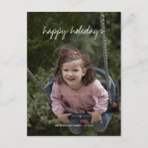 Happy Holidays Christmas Photo Holiday Custom kids