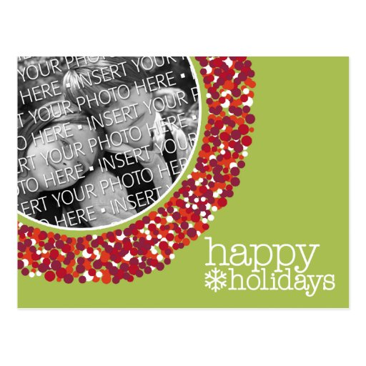 Happy Holidays - Christmas Photo Post Cards