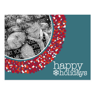 Happy Holidays - Christmas Photo Post Card