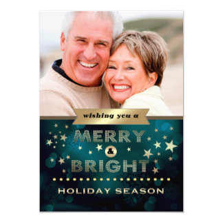 Happy Holidays Christmas Photo Template Cards