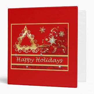 Happy Holidays Christmas Tree Binders