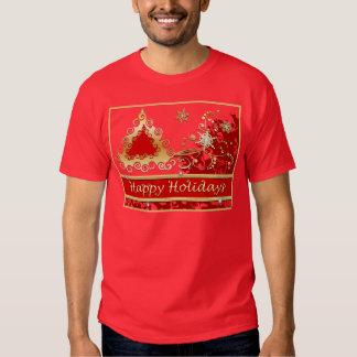 Happy Holidays Christmas Tree Shirt