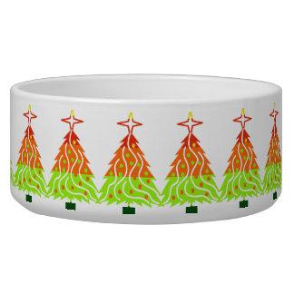 Happy Holidays Christmas Trees Bowl