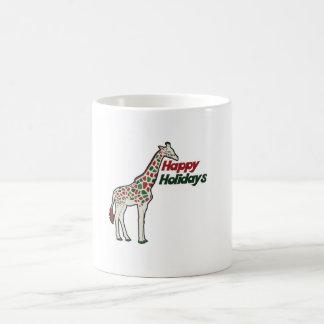 Happy Holidays Classic White Coffee Mug