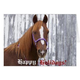 Happy Holidays Clifford Card