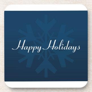Happy Holidays Coaster