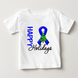 Happy Holidays Colon Cancer Awareness Infant T-shirt