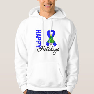 Happy Holidays Colon Cancer Awareness Pullover