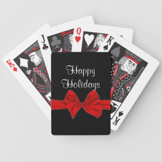 Happy Holidays Custom Bicycle cards Bicycle Playing Cards