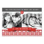 Happy Holidays. Custom Christmas Photo Cards