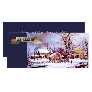 Happy Holidays. Customizable Christmas Cards