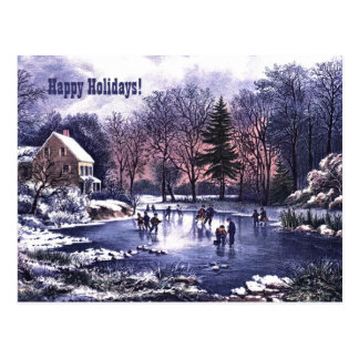 Happy Holidays. Customizable Christmas Cards