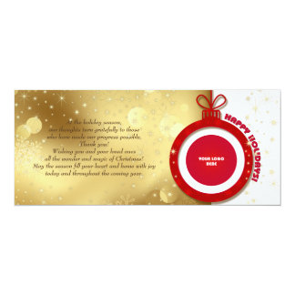 Happy Holidays. Customizable Corporate Cards