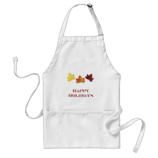 Happy Holidays ! Customize style and color. Adult Apron