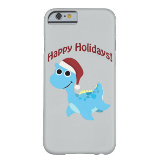 Happy Holidays! Cute Nessie Barely There iPhone 6 Case