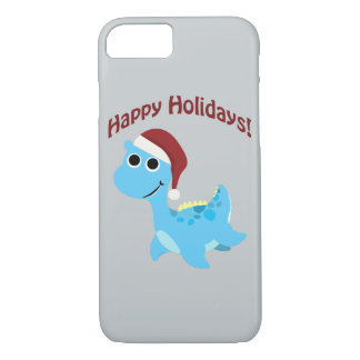 Happy Holidays! Cute Nessie iPhone 8/7 Case