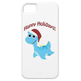 Happy Holidays! Cute Nessie iPhone SE/5/5s Case