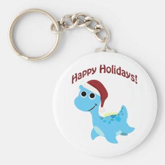 Happy Holidays! Cute Nessie Keychain