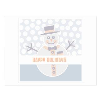Happy Holidays Design Postcard