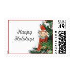 Happy Holidays Elf Postage