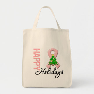 Happy Holidays Endometrial Cancer Awareness Bags
