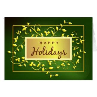 Happy Holidays - Executive Greeting Card