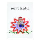 """Happy Holidays Fairy 5"""" X 7"""" Invitation Card"""