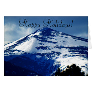Happy Holidays Family Card