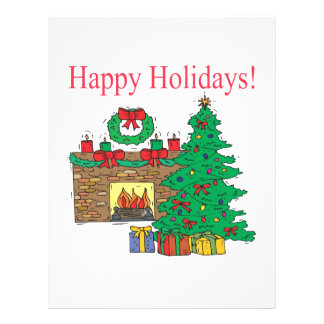 Happy Holidays Full Color Flyer