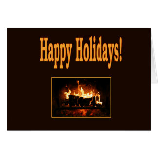 Happy Holidays for a Friend Greeting Card