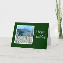 Happy Holidays For Family Farm or Business Holiday Card