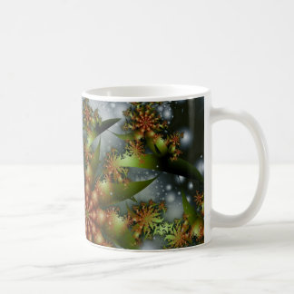 Happy Holidays Fractal Coffee Mug