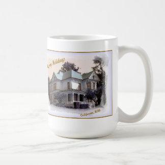 HAPPY HOLIDAYS from California by L.E. DUBIN Coffee Mug