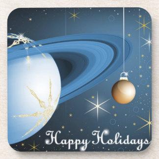 Happy Holidays From Cassini Beverage Coaster