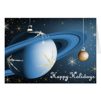 Happy Holidays From Cassini Greeting Card
