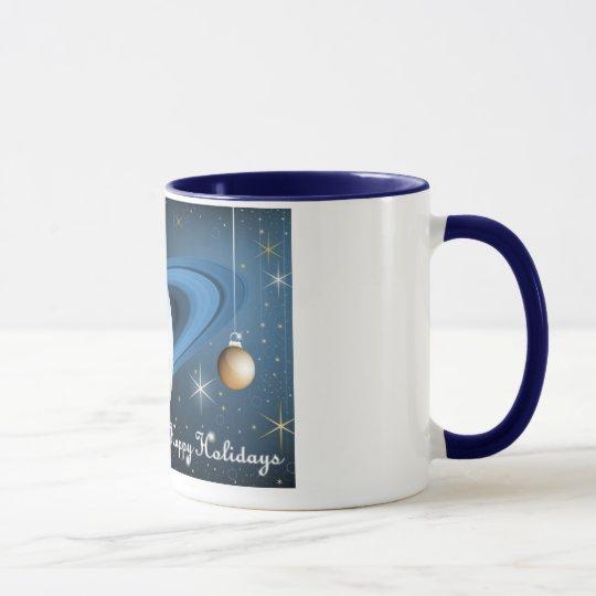 Happy Holidays From Cassini Mug
